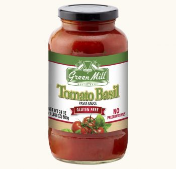 Green Mill Foods Tomato Basil Pasta Sauce