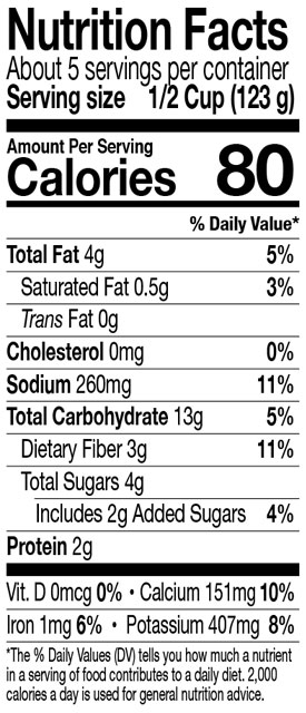 Green Mill Italian Pasta Sauce Nutrition Facts