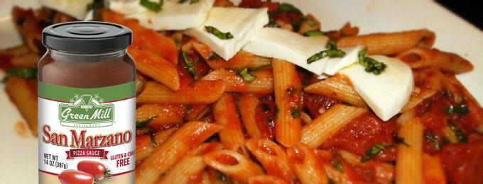 Green Mill Foods San Marzano Penne Pasta Recipe
