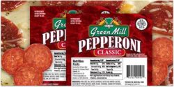 Green Mill Pepperoni Pizza Topping
