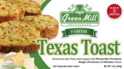 Green Mill Foods Texas cheese toast 5-cheese garlic