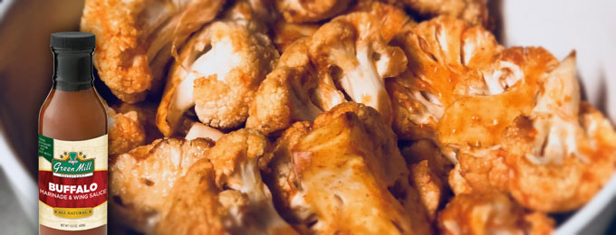 Green Mill Foods Buffalo Cauliflower Recipe